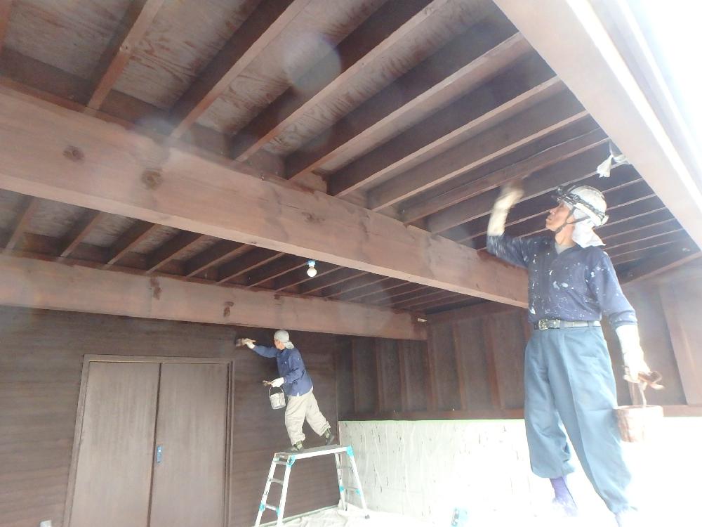 江別市あさひが丘 外壁屋根塗装 20190613-1