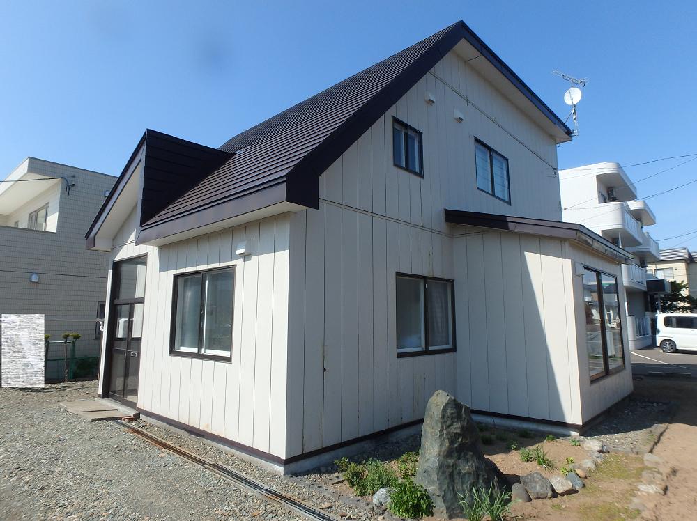 江別市東野幌町 外壁サイディング 20190617-1