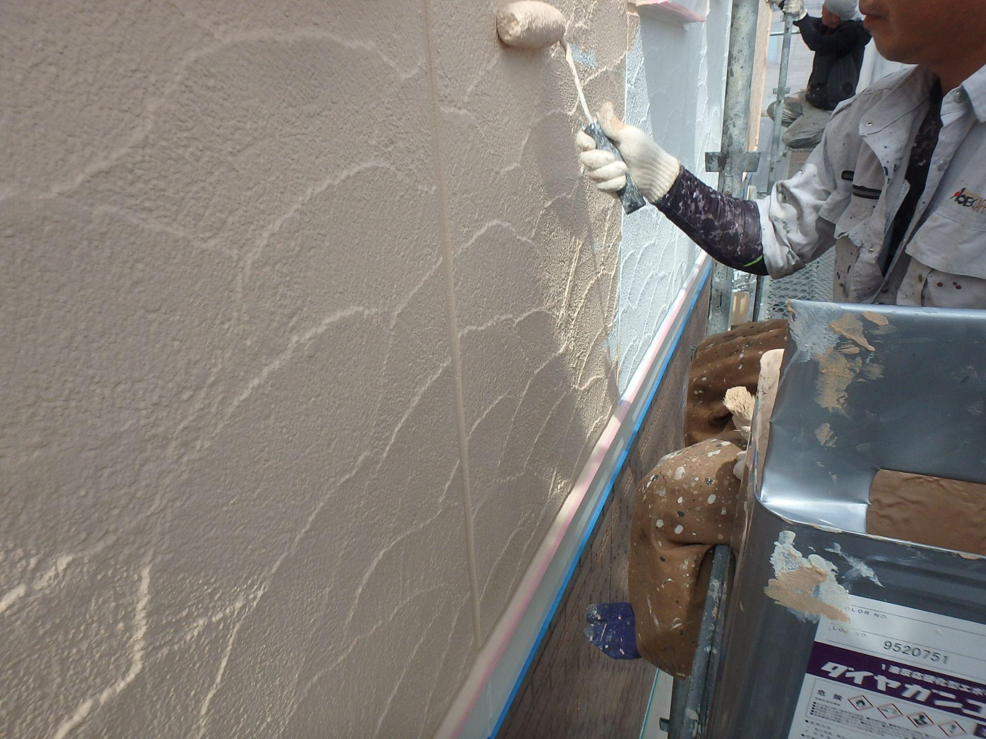 札幌市でガイナ外壁塗装